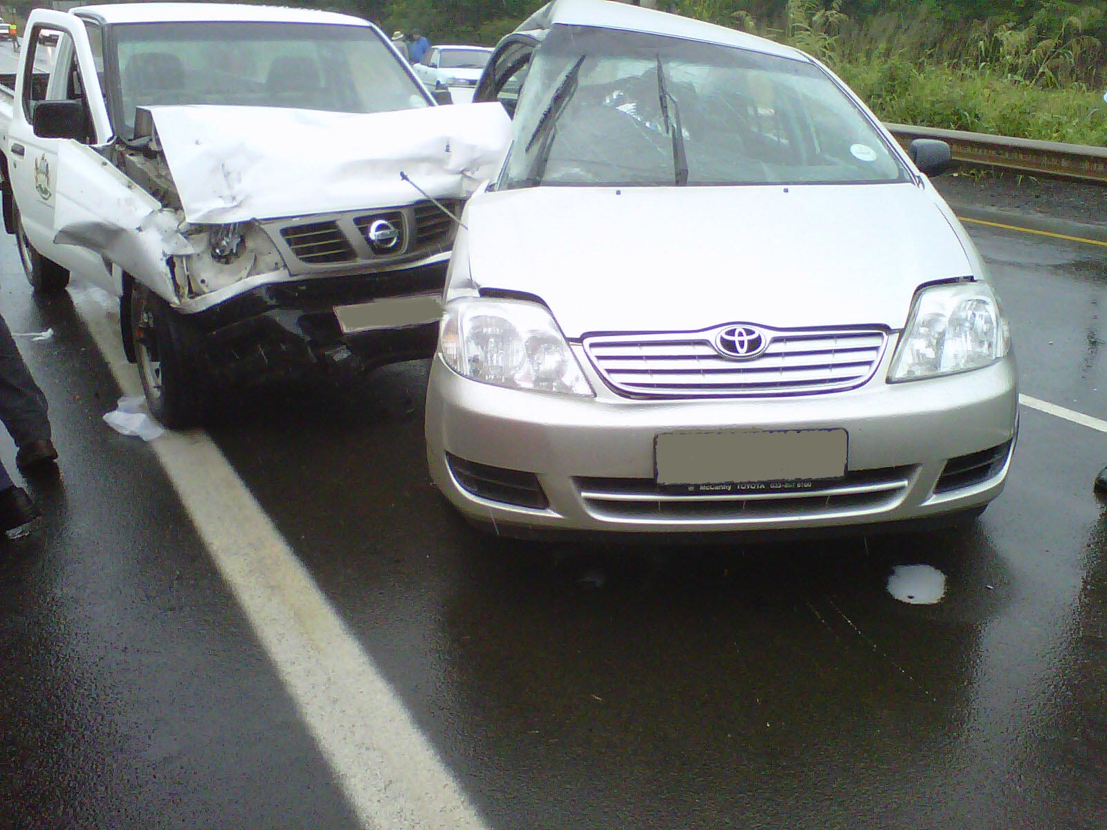 Getting great auto insurance will help you get through days like this ... photo by CC user ER24 EMS (Pty) Ltd. on Flickr
