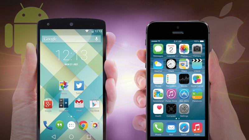 Are iPhones are better than Android? ... photo by CC user downloadsourcefr on Flickr