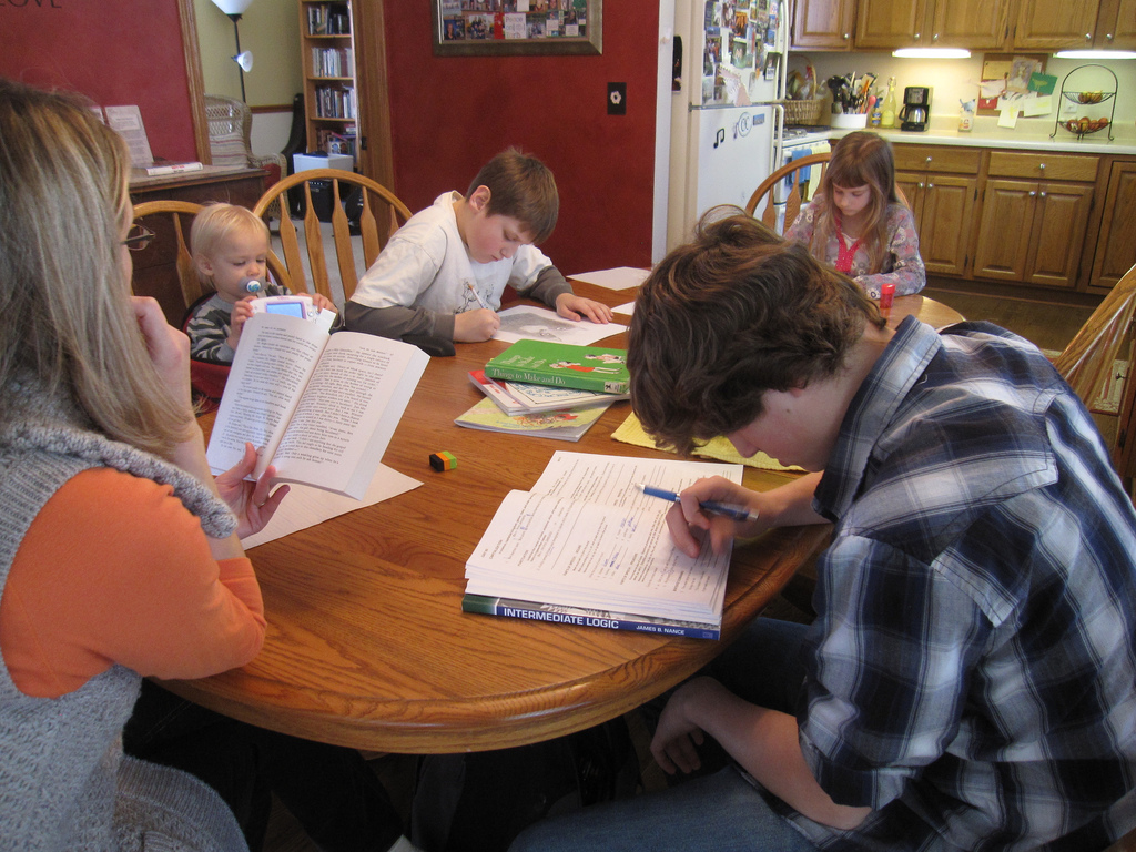 Children with Learning Disabilities? Maybe homeschooling is the answer ... photo by CC user iowapolitics on Flickr