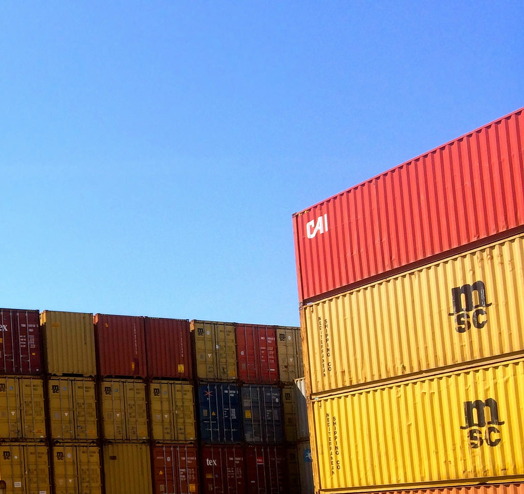 Some commercial storage containers is just what you need on your construction site