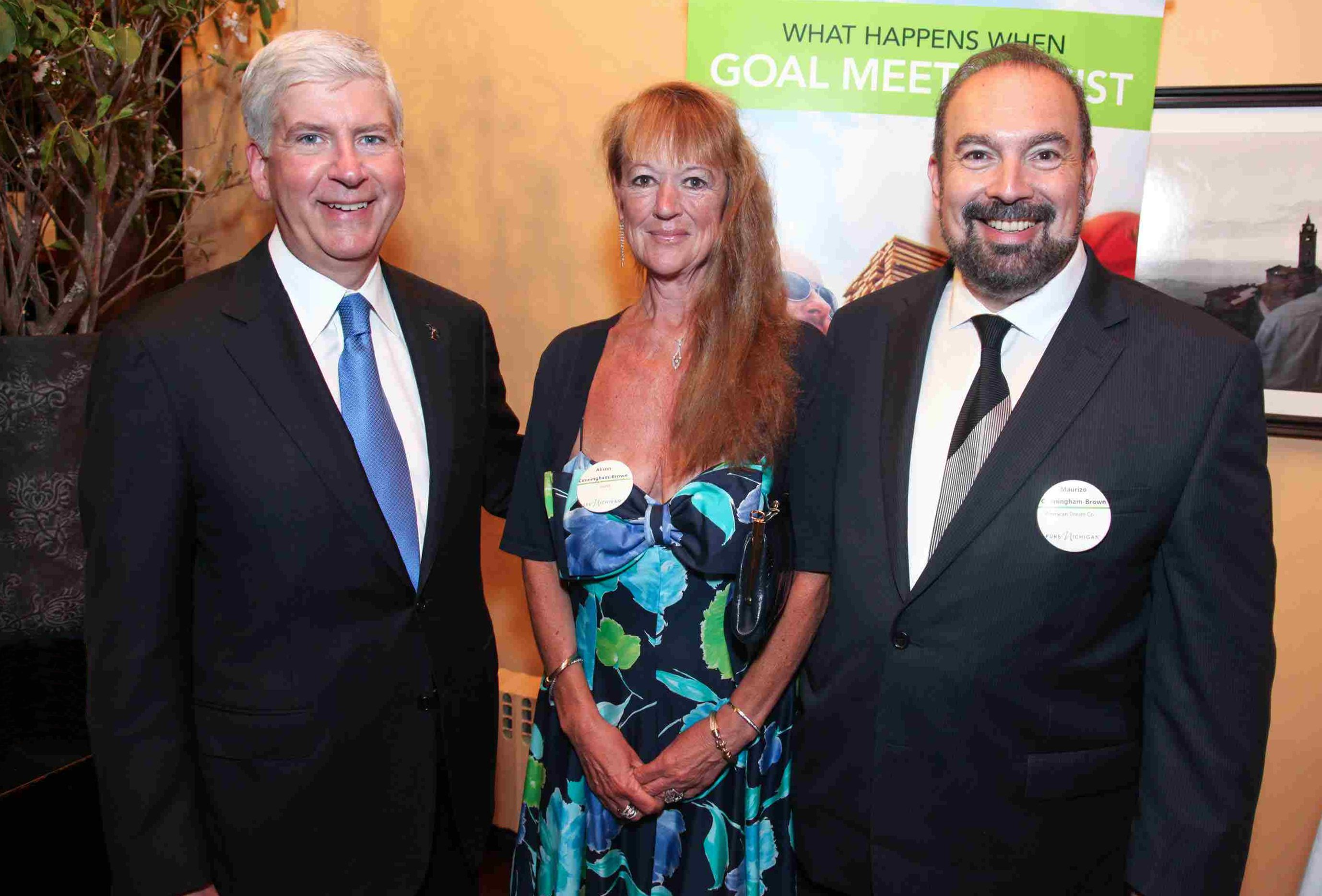Governor_Rick_Snyder_(MI)_with_Maurizio_Cunningham-Brown_(CEO_American_Dream_Co)_and_his_wife_Alison